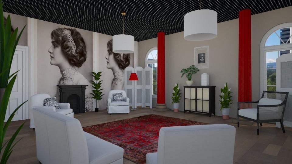 Room 17 - Living room - by Tiffany Y