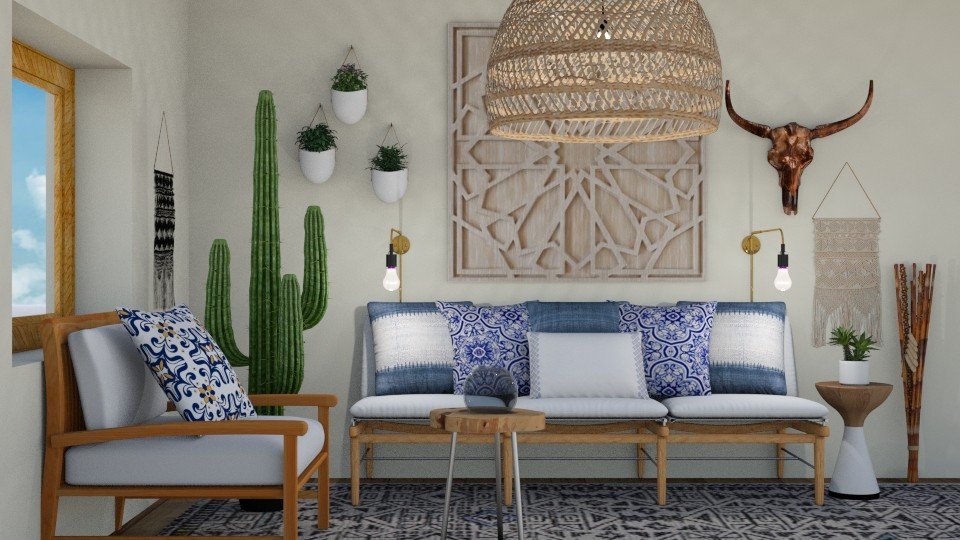 Boho Living - Eclectic - Living room  - by switte94