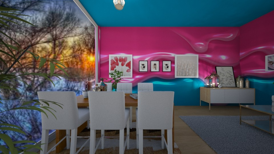 Modern Meeting Small Room - by beautiful luxury winter decoration