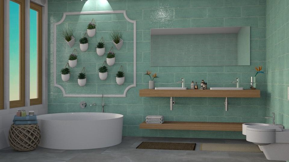 Bathroom - Bathroom  - by QueenOfDiamonds