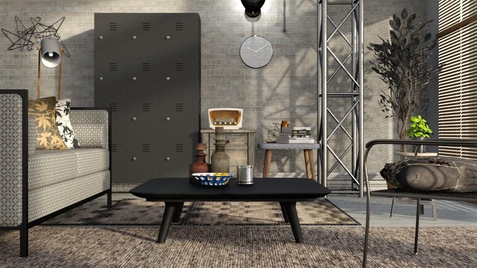 Metal - Living room - by ZuzanaDesign