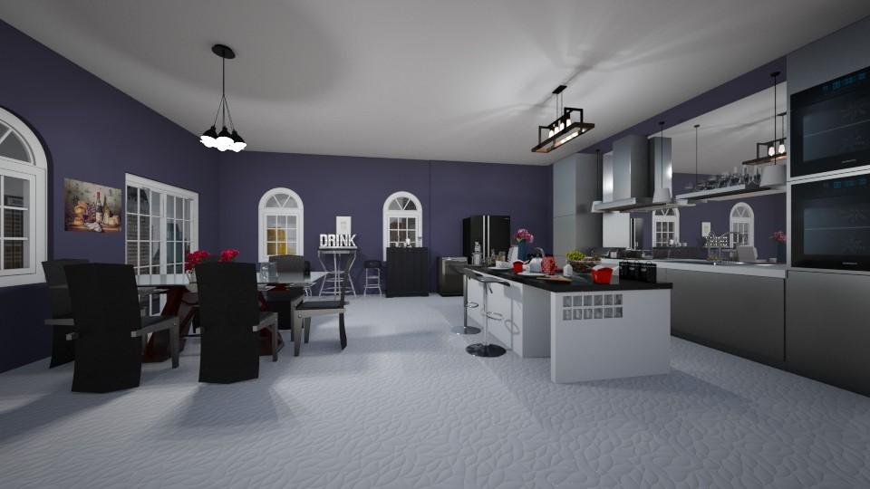 modern kitchen - Kitchen - by crystalg98