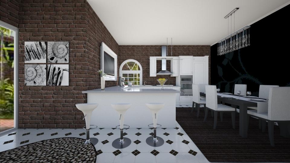 modern kitchen - Modern - by Tininha oliveira