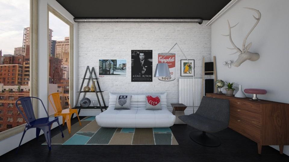 summer  - Modern - Living room - by Karim Mahfouz