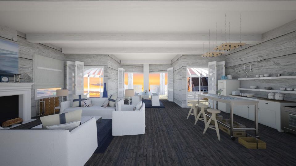 new hampshire  - Living room - by Dibiduu
