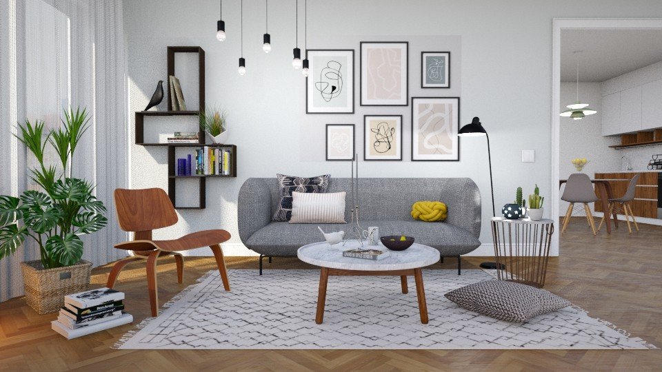 Scandinavian - Living room - by Valkhan