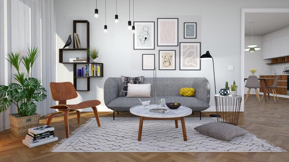 Scandinavian - Living room  - by Valkhan