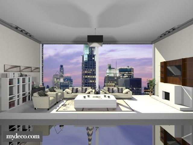 Living Room 06 - Living room - by Thika