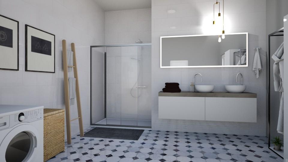 whiteforever - Bathroom  - by dorota_k