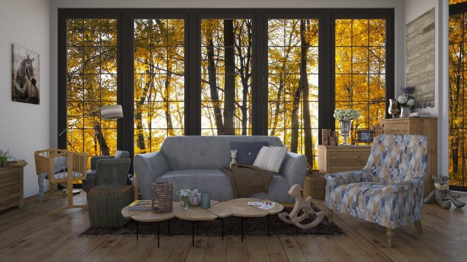 design 11 - Living room  - by jolaskajp