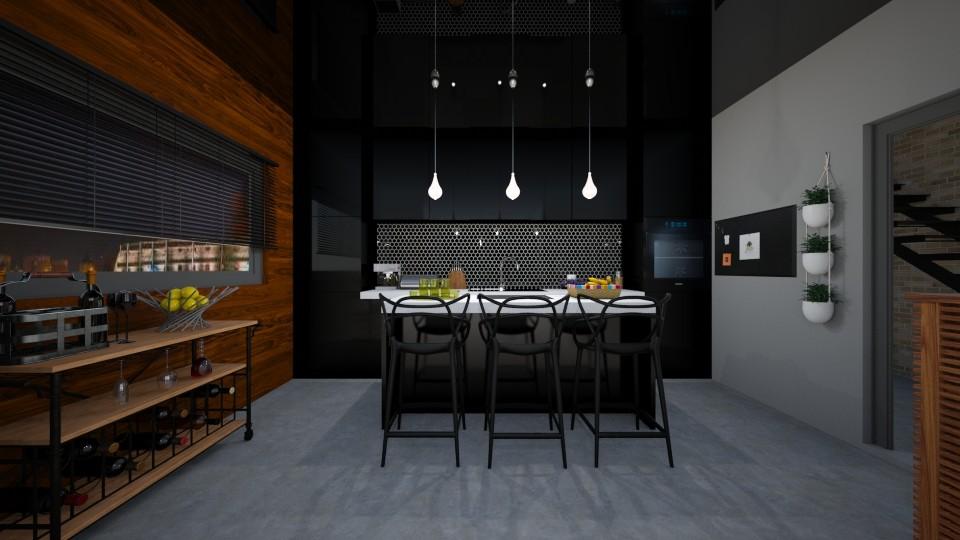 Camilla - Modern - Kitchen  - by agnieszka_giez