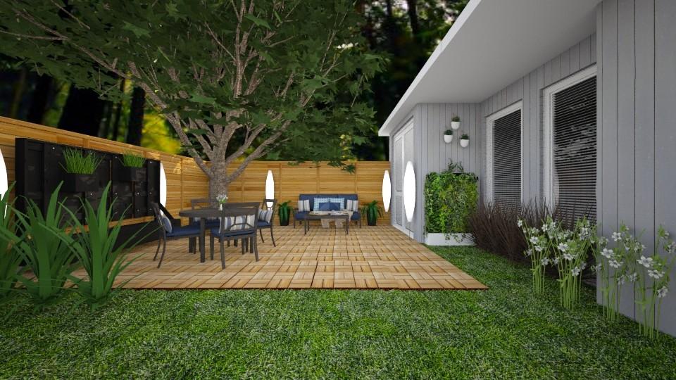 203 Garden Terrace - Garden - by Agata_ody