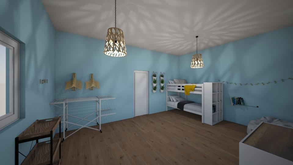 twin room - Modern - Bedroom  - by aschaper