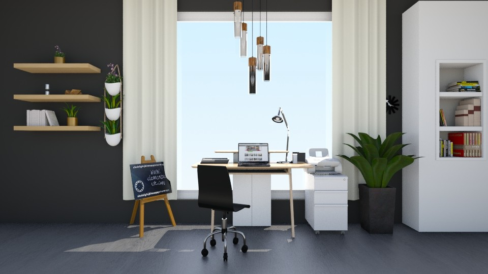 Home Office - Office - by elisavz_