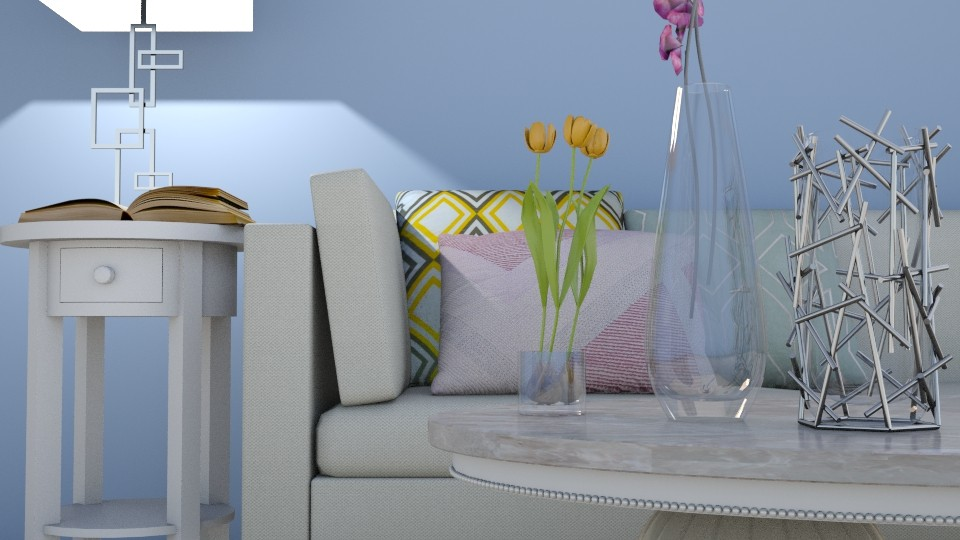 Close Up Pastel - Living room - by YearOfTheDog