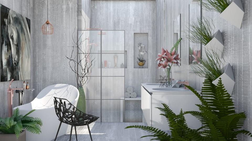 Bath_and_Relax - Bathroom - by Lye