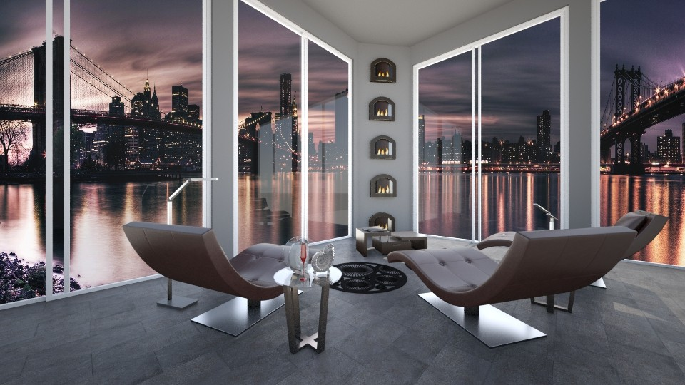 City View - Living room - by Cairalacas
