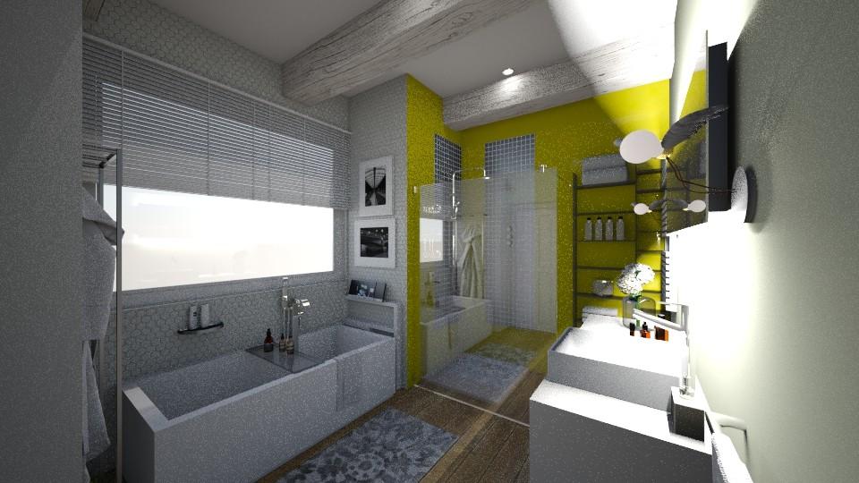 big bath - Bathroom - by bettamarchegiano