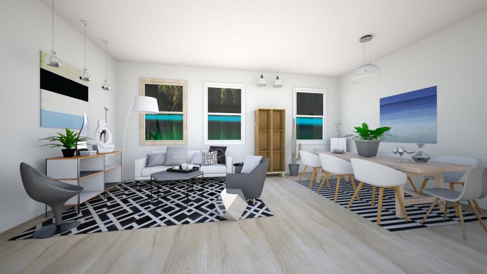 scandi essential - Modern - Living room - by Georgina Holly