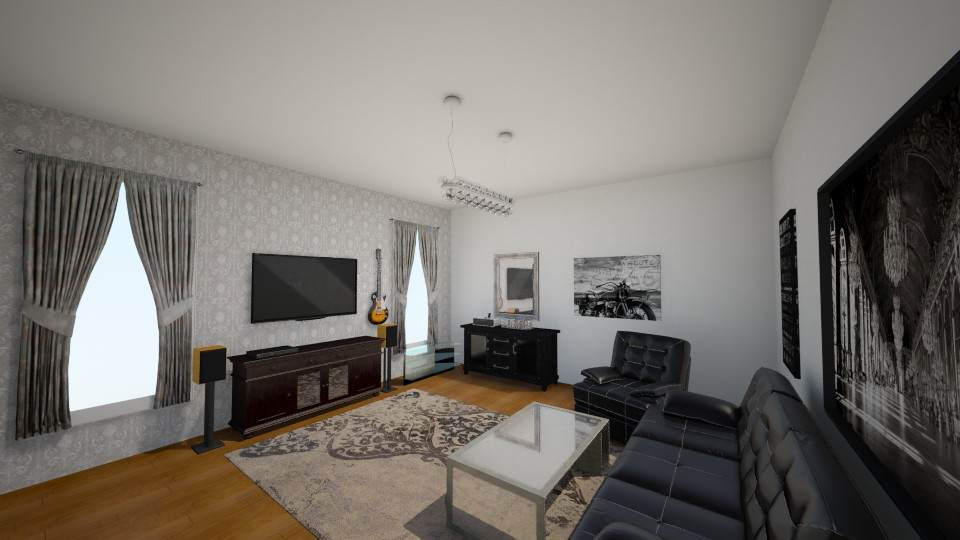 877 - Living room - by marius iulian