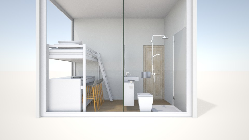 live 8m2 with bathroom  - by Marie Harrer