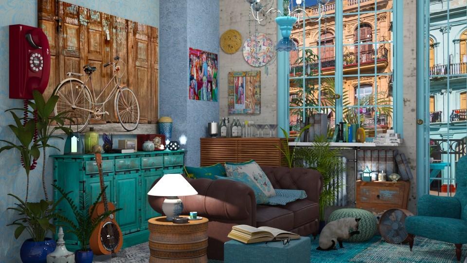 Havana living - Living room - by AlexDi