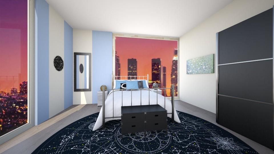 Modern Bed 2 - Modern - Bedroom - by kylathemermaid