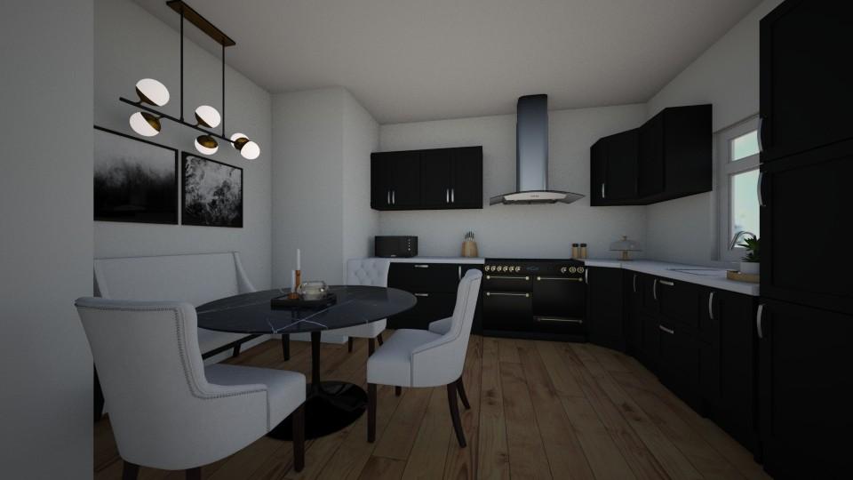 blackandwhite - Kitchen - by erladisgudmunds