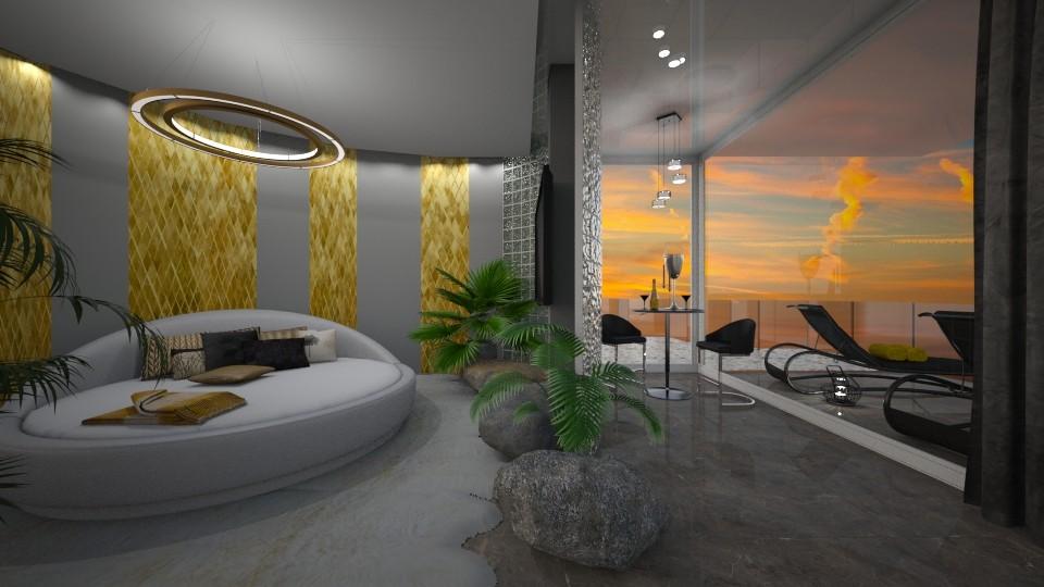 lux Ibiza - Living room - by norcska