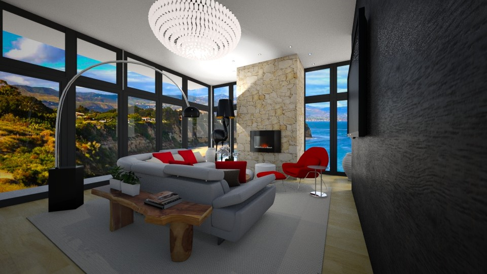 Malibu Living Room - Living room  - by JarkaK