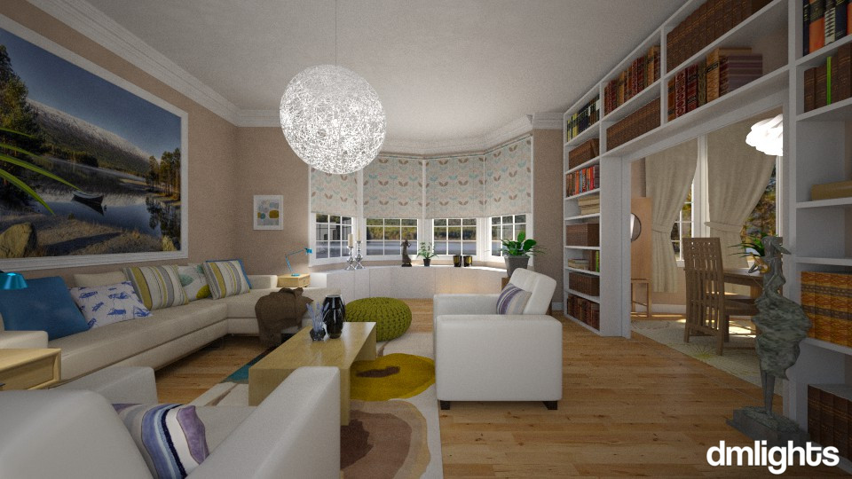 Timless  - Living room - by DMLights-user-982019