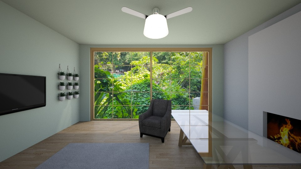jungle - Global - Living room - by o vivess