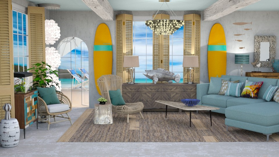 Surf Culture Living - Living room - by jjp513