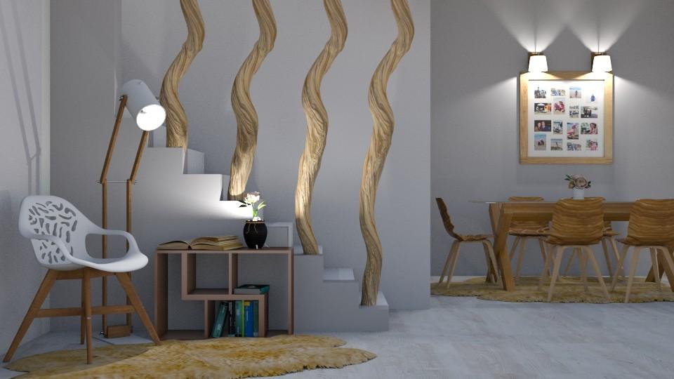 wood and gentle - by snjeskasmjeska