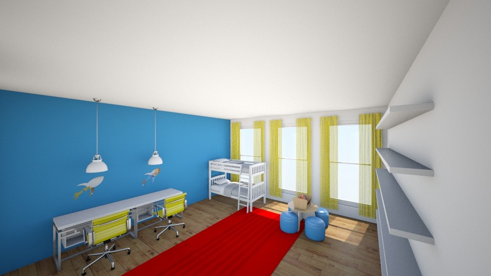 Primary Play Room - Kids room  - by jmeyer2x4