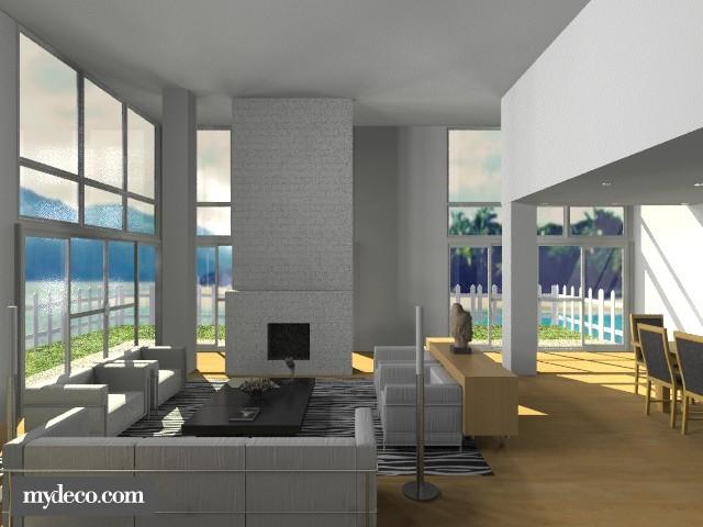 Fresh Air - Modern - Living room  - by CassW