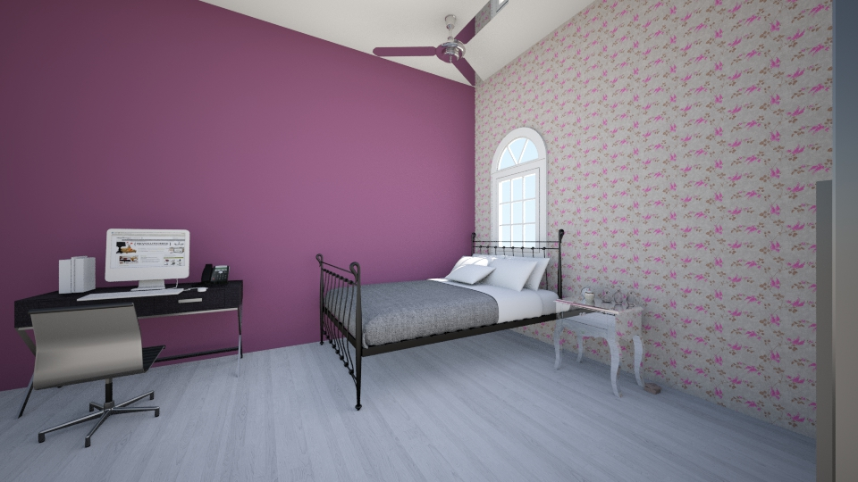 Meu Quarto  - Feminine - Bedroom  - by BeckJu