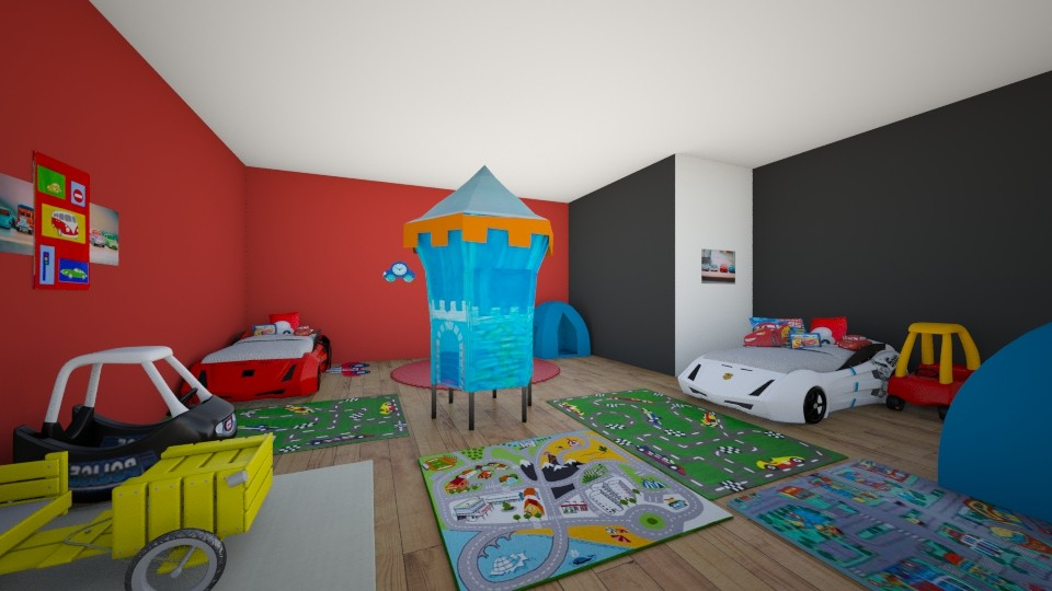 The BEST KIDS ROOM EVER - Kids room  - by SydneyCupcake