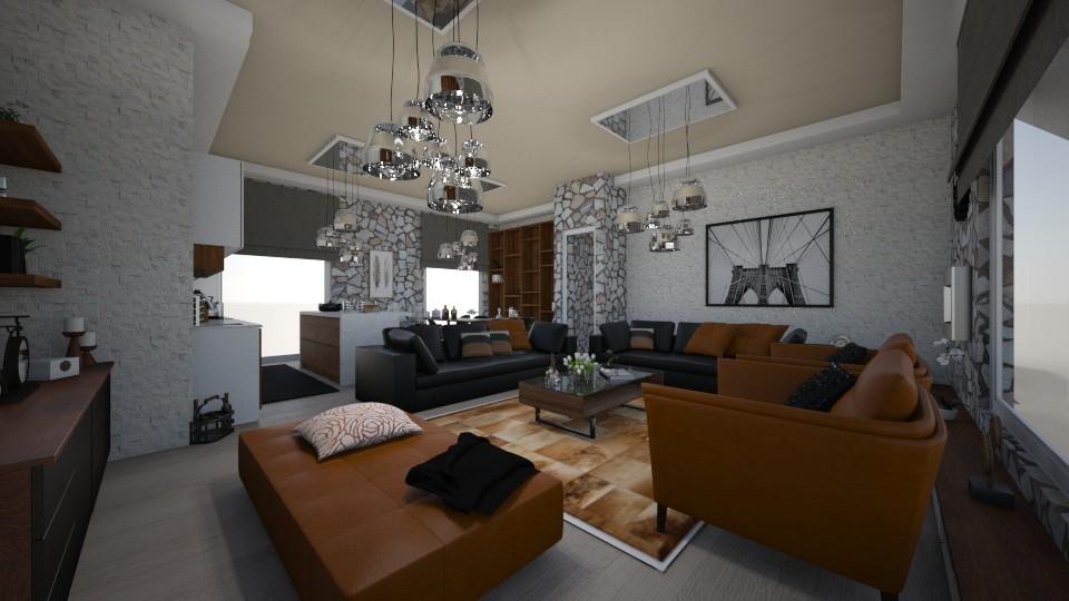 living room - Living room - by Vasiliki Stagkidou