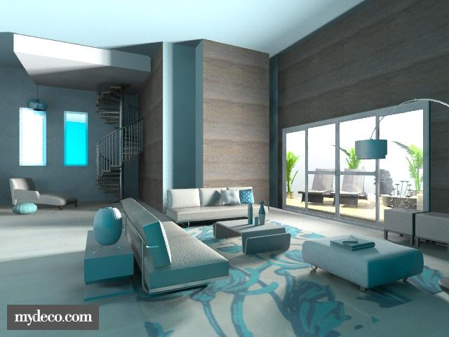 blue breeze - Modern - Living room - by Calolynn