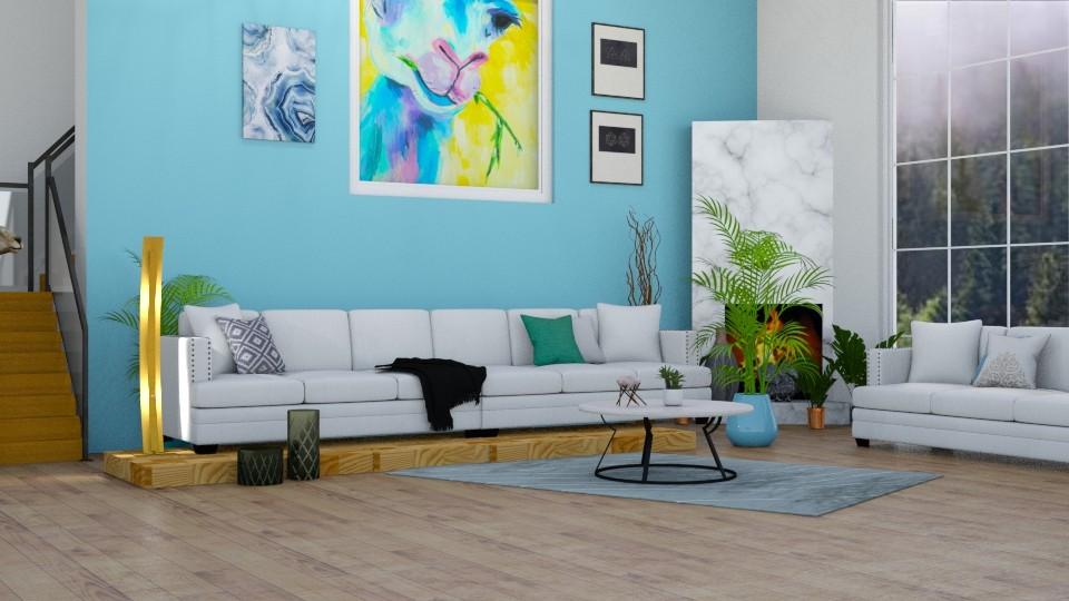 GYB llama - Country - Living room - by horseygirl Xx