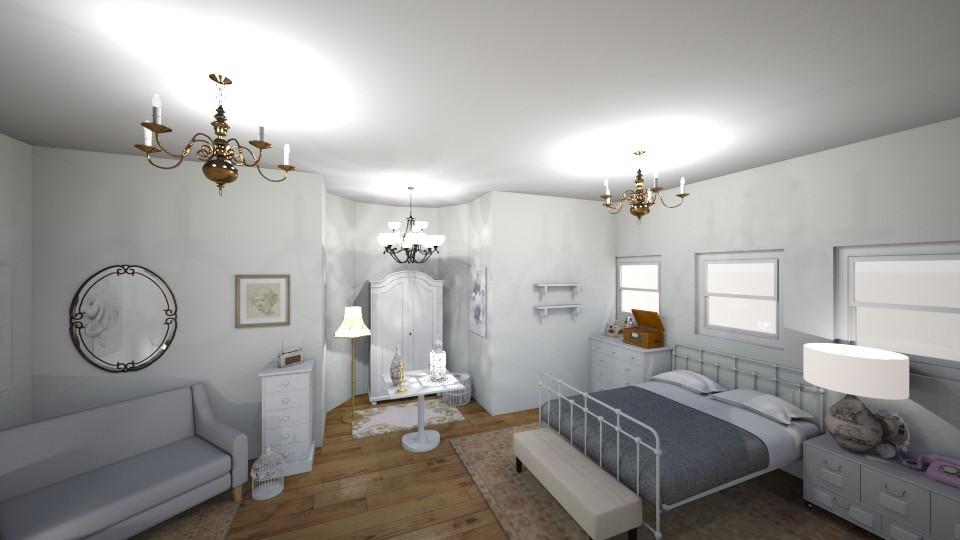 classic bedroom - Classic - Bedroom - by elladesign