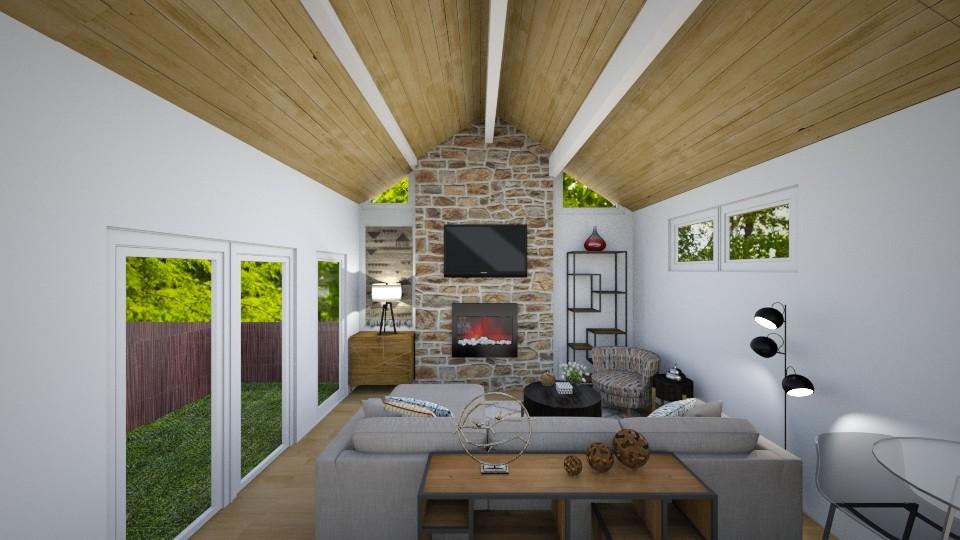 Heung LivRm - Modern - Living room - by erstudio