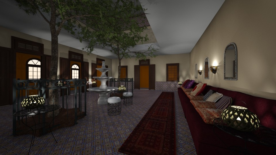 Marrakesch style - Living room - by Phospective
