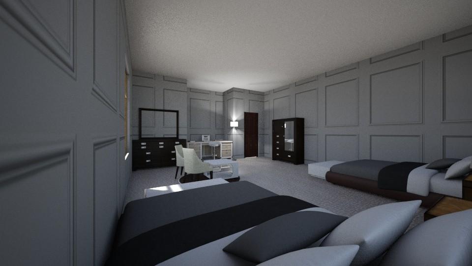 GIRLS ROOM - Modern - Bedroom - by Mikayla Ryann