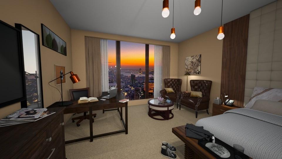 Hotel Room - Bedroom  - by Rin12106