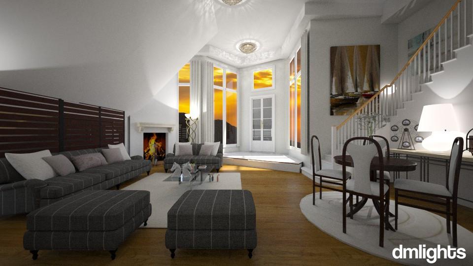 Ana - Living room - by Roberta Bela