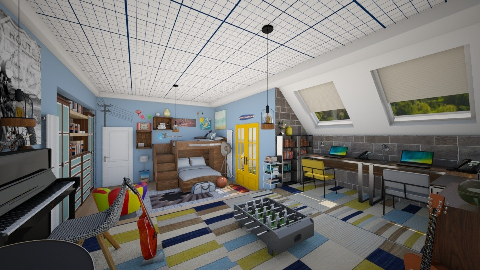 teens room - Kids room - by Conchy