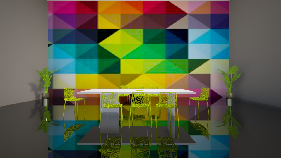 Rainbow Dining  - Dining room - by jnd444
