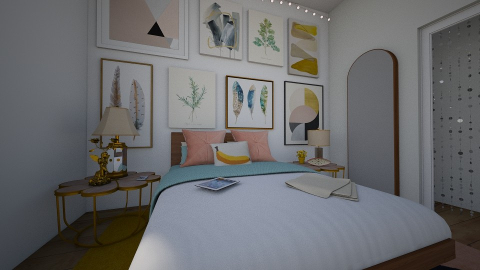 maximalistic bedroom - by dchav5